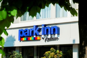 Park Inn entrance